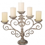 Подсвечники, лампы, свечи