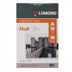 Фотобумага Lomond А4  90гр.100л. односторонняя матовая д/струйной печати