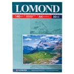 Фотобумага Lomond А4 140гр. 50л.глянцевая односторонняя для струйной печати