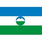 Флаг Кабардино-Балкарии  22х15 (полиэфирный шёлк)