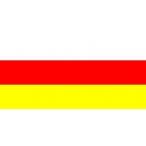 Флаг Северная Осетия  22х15 (полиэфирный шёлк)