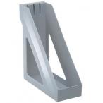 Подставка д/бумаг Стамм Базис вертикальная серая