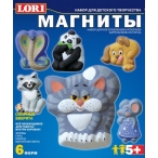 Набор д/дет. тв-ва Lori-toys фигурки на магнитах Озорные зверята