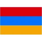 Флаг Армения  150х100 (полиэфирный шёлк)
