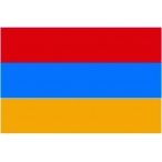 Флаг Армения  135х90 (полиэфирный шёлк)
