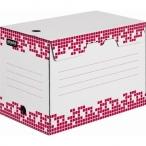 Короб архивный Attache Selection А4 белый, гофрокартон, 200 мм., вырубной замок