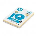 Бумага А4 80гр IQ Color 250л., 5 цветов(34,22,10,12,21)