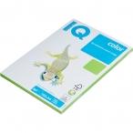 Бумага А4 80гр IQ Color ярко-зеленая, 100л.