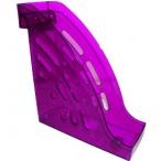 Лоток д/бумаг Стамм Торнадо вертикальный, тонированный, фиолетовый, слива