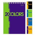 Блокнот  А6  Хатбер 80л. спираль 2 colors