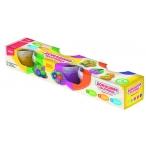 Масса для лепки Lori-toys Радужный песок 5 цветов по 140 гр, формочка