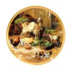 Тарелка декоративная Ламанчи 17,8см.