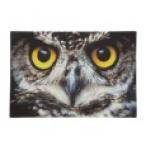 Коврик Корона Студио Глаза совы придверный, 75*50см