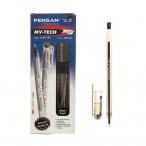Ручка шариковая Pensan My Tech черная, 0,7мм.