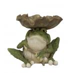 Тарелка декоративная Лягушка