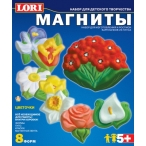 Набор д/дет. тв-ва Lori-toys фигурки на магнитах Цветочки