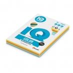 Бумага А4 80гр IQ Color 250л., 5 цветов(39,40,44,42,48)