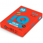Бумага А4 80гр IQ Color кораллово-красный, 500л./пач