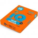 Бумага А4 80гр IQ Color оранжевый, 500л./пач
