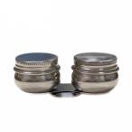 Масленка Малевичъ металлическая с двойной  крышкой