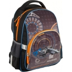 Рюкзак школьный Kite Spaceship 1 отд., карм., ортоп. спинка, отр. элем., 38х29х13см.