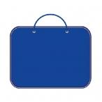 Папка менеджера А4 Пчёлка синяя
