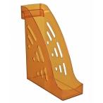 Лоток д/бумаг Стамм Торнадо вертикальный, тонированный, оранжевый ,манго