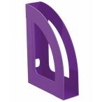 Лоток д/бумаг Стамм Респект вертикальный фиолетовый violet