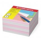 Бумага для заметок Erich Krause 9х9х5 2 цв., розовый