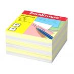 Бумага для заметок Erich Krause 9х9х5 2 цв., жёлтый