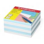 Бумага для заметок Erich Krause 9х9х5 2 цв, голубой