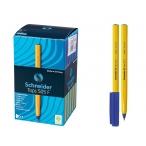 Ручка шариковая Schneider Tops 505 F синяя, 0,3мм.
