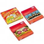 Пластилин 10цв. ГАММА Мультики 200гр