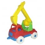 Игрушка Рыжий Кот Машинка мини. Эксковатор