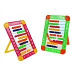 Счеты Miraculous детские на подставке, пластик., цвета в ассортименте,  26*18см.