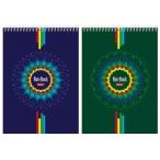 Блокнот  А5  Хатбер 60л. cпираль Four Colour клетка, жесткая подложка