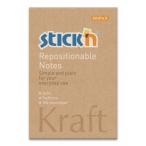 Бумага д/зам. самокл. Hopax Kraft Notes 76x51мм 100л.