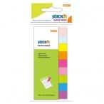 Закладки самоклеящиеся Hopax 50*12,  9цв.*50л., бумажные