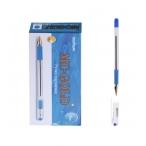 Ручка шариковая MC Gold синяя, грип, 1мм.