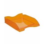 Лоток д/бумаг Стамм Люкс горизонтальный, 1 отд., оранжевый, манго