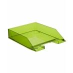 Лоток д/бумаг Стамм Каскад горизонтальный, зеленый Лайм