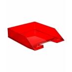 Лоток д/бумаг Стамм Каскад горизонтальный, темно-красный Вишня