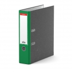 Папка-регистратор 70мм Erich Krause мраморная зеленая, с карманом
