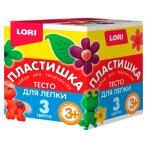 Тесто д/лепки Lori-toys Набор №16 3цв., в картонной коробке, 70гр.