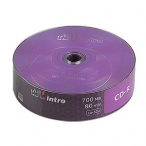Диск CD-R Intro 700 mb 52x Shrink 25