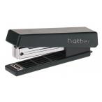 Степлер №10 Хатбер черный, 10л, 50 скоб, захват 51мм, с антистеплером, в картонном боксе