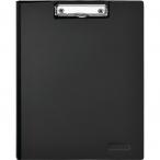 Папка-планшет А4 Attache черная, с верхней створкой