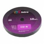 Диск CD-R Intro 700 mb 52x Shrink 10