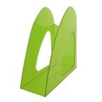 Лоток д/бумаг Хатбер вертикальный, зеленый, тонированный, 235*90*240