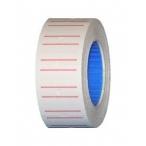 Этикет-лента МНК бел.с красн.полосой, прямоугольная, 21,5х12 (700эт./270рол.)